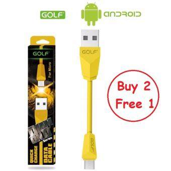 Harga (Buy 2 Free 1) Original Golf Diamond Series Fast Charging Micro Usb Cable 1.5A