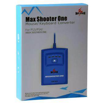 Harga MayFlash Max Shooter ONE Mouse Keyboard Converter for PS3/PS4/XBox 360 XBox (Blue)