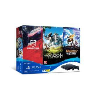 Harga PLAYSTATION 4 SLIM 500GB ASIA SET HITS BUNDLE (1 YEAR WARRANTY)