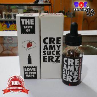 Harga (ORIGINAL) Creamy Suckerz - Very Bery Plan (Strawberry) 30ml Vape e-Liquid