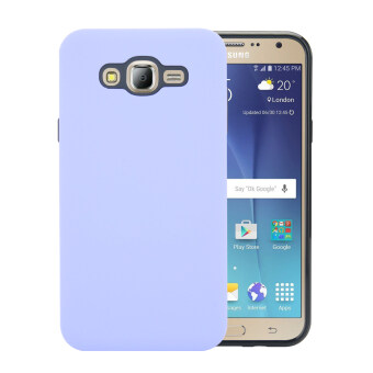 Harga Moonmini Case for Samsung Galaxy J7(2015) Full-Body Shockproof Combo Cover Case - Purple