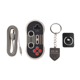 Harga Allwin Portable 8Bitdo NES30 PRO Bluetooth Wireless Game Controller Full Buttons