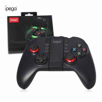 Harga iPega PG-9068 Tomahawk PG 9068 Bluetooth Wireless Joystick Gamepad Gaming Controller Remote Control for Mobile Phone Tablet PC iOS Android TV Box (Black)