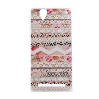 Harga Soft TPU Cover Case for Sony Xperia T2 (Aztec)