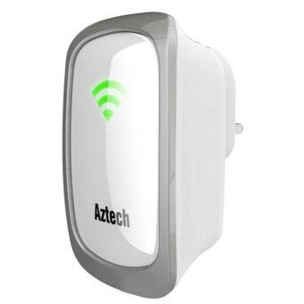 Harga Aztech WL559E Wall Plugged Wireless-N Range Extender