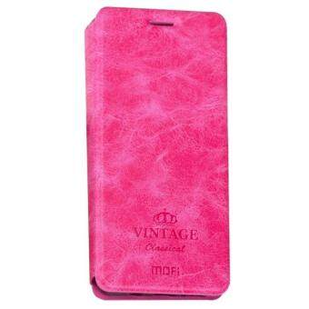 Harga MOFI VINTAGE Huawei P10 Plus Crazy Horse Texture Horizontal Flip Leather Case with Card Slot & Holder (Magenta)