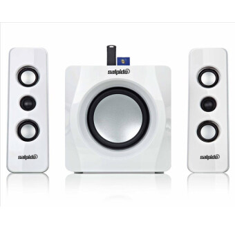 Harga Salpido Tron 101 2.1 Multimedia Speaker (White)