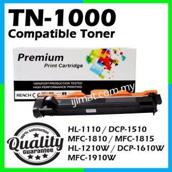 Harga Brother TN1000 / TN-1000 High Quality Compatible Toner Cartridge For Brother HL-1110 / DCP-1510 / MFC-1810 / MFC-1815 / HL-1210W / DCP-1610W / MFC-1910W Printer