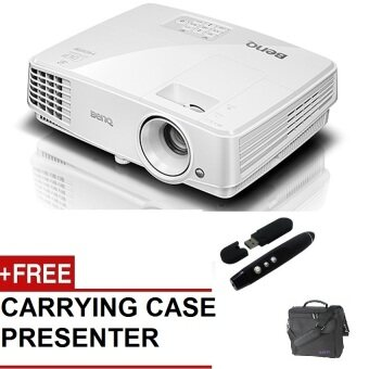 Harga BENQ MW529 WXGA PROJECTOR (FREE : PRESENTER + CARRYING CASE)