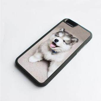 Harga phone case TPU cover for Apple iPhone 6 Plus / 6s Plus siberian husky dog puppies