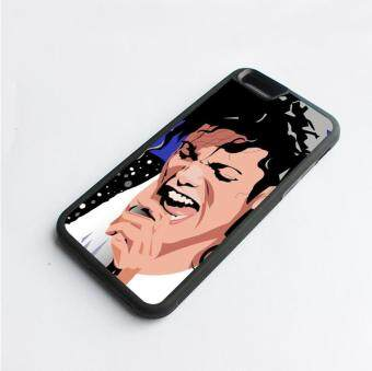 Harga phone case TPU cover for Apple iPhone 7 Michael Jackson