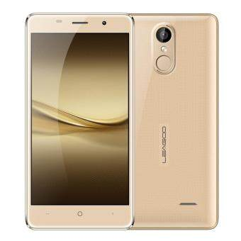 Harga Original Leagoo M5 Smartphone 5.0 Inches 2G+16G 5MP+8MP Dual Cameras Metal Frame Fingerprint Gold