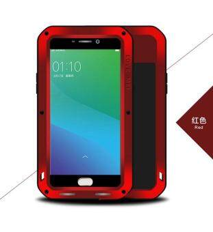 Harga LOVE MEI Powerful Case for Xiaomi Mi Max Shockproof Dropproof Dustproof Cover (Red )