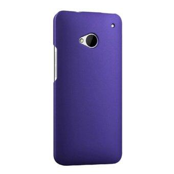 Harga For HTC One M7 801e Hard Ultra Thin PC Snap-on Back Case Cover - Royal Blue