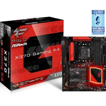 Harga AsRock X370 Gaming K4 AM4 ATX AMD Motherboard