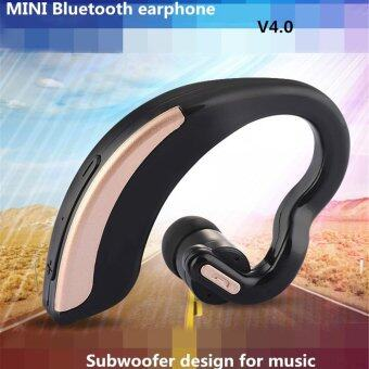 Harga Original KKMOON V18 Universal Wirless Bluetooth Stereo Headset CSR8610 BT4.0 Earphone One with Two Connections Safe Driving Hands-free Cancellation Sweatproof Earbud Earpiece