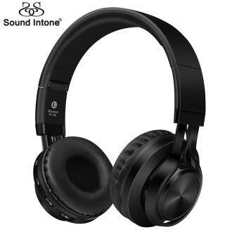 Harga Sound Intone BT-06 Over-ear Wireless Bluetooth 4.0 Headphones Foldable Stereo with Build-in Microphone, Wired Music Headsets MP3