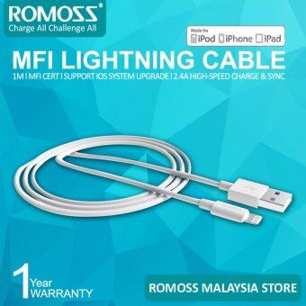 Harga ROMOSS MFI Certified Lighting Cable CB13 - 1M