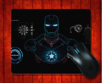 Harga MousePad Iron Man Costume Specs Movie for Mouse mat 240*200*3mm Gaming Mice Pad