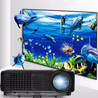 Harga Full HD 1080P 5000 Lumens 3D LED Projector Home Cinema Theater Multimedia HDMI