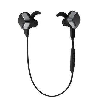 Harga REMAX S2 Sports Unique Magnet Headset Wireless Bluetooth Earphone (Black)