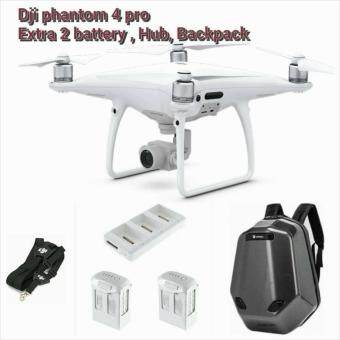 Harga DJI Phantom 4 PRO + 2 Batteries + DJI Lanyard + Charging Hub + Wildpie Backpack (Official DJI Malaysia Warranty)