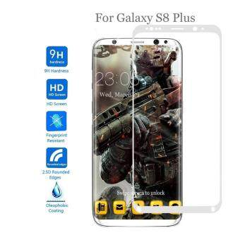 Harga Galaxy S8 Plus Screen Protector, Gogerstar 9H HD Clear Anti-Bubble Full Coverage 3D Curved Tempered Glass Screen Protector for Samsung Galaxy S8 Plus(White)