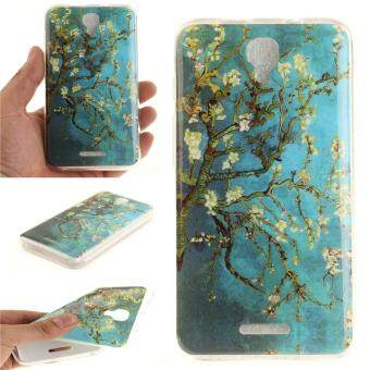 Harga Moonmini Case for Alcatel Pixi 4 5.0 5045D Ultra Slim Soft TPU Back Case - Apricot Blossom