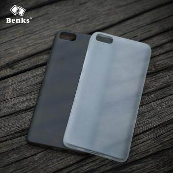 Harga Benks Matte 0.4mm Thin Transparent Smooth Back Cover Case for Xiaomi Mi 5