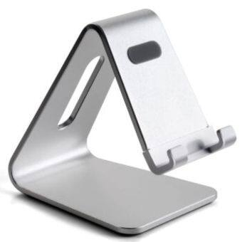 Harga UP silver color aluminum laptop and tablet stands AP-4S
