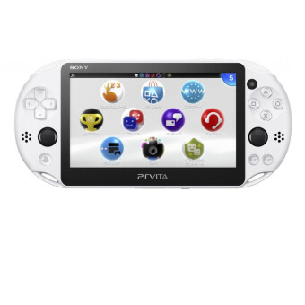 Harga PS VITA PLAYSTATION VITA NEW SLIM MODEL - PCH-2006 (Glacier White) SONY WARRANTY