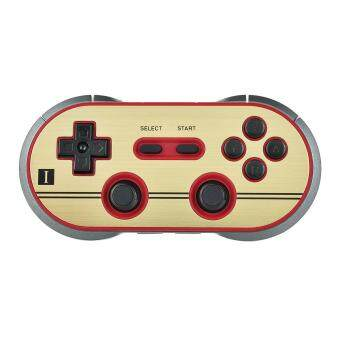 Harga 8Bitdo FC30 PRO Wireless Bluetooth Controller Gamepad - Golden + Black
