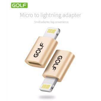 Harga GOLD GC-31/MICRO USB TO LIGHTNING ADAPTER GOLD