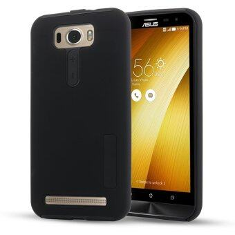 Harga Moonmini Hybrid Combo Shockproof Back Case Cover for Asus ZenFone 2 Laser ZE500KL 5.0 inch (Black)