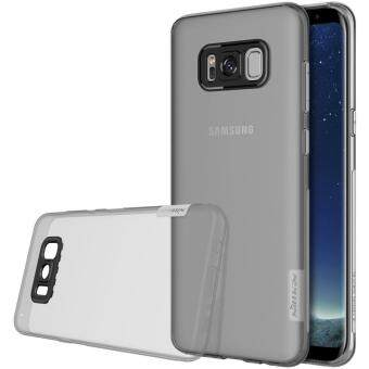 Harga sfor Galaxy S8 Plus cover Nillkin nature Transparent Clear Soft silicon TPU Protector cases for samsung galaxy s8 Plus S8+ case (Grey)