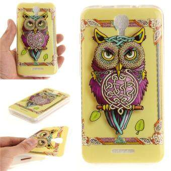 Harga Moonmini Case for Alcatel Pixi 4 5.0 5045D Ultra Slim Soft TPU Back Case - Colorful Owl