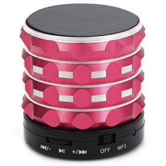 Harga K2 Portable Wireless Bluetooth 2.1 Super BASS Speaker (RED)