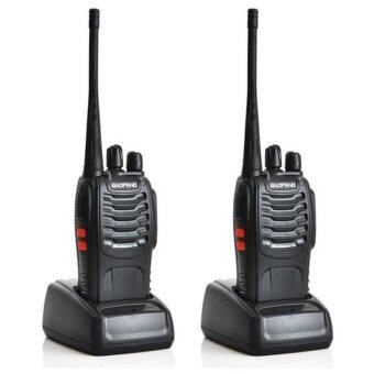 Harga 1 Pair (2 Units) BaoFeng BF-888S16 16 Channel Walkie Talkie