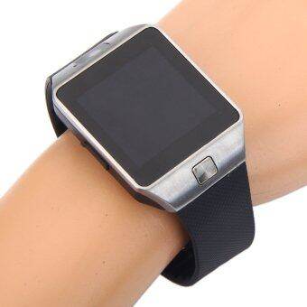 Harga DZ09+ ZenGear Smart Watch (Silver Black) for Android + 16GB Class 10 Memory Card