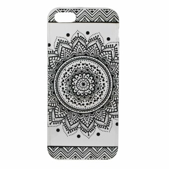 Harga Ultra-thin Soft TPU Back Case Cover For iPhone SE 5SE 5 5S (Lace Flower)