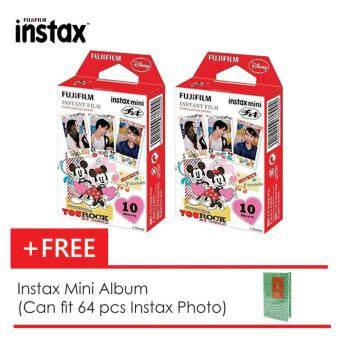 Harga Fujifilm Instax Mini Mickey Film x2 Box + Instax Mini Album