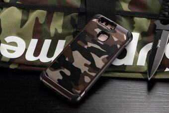 Harga Hybrid Camouflage Armor phone Case for Huawei P9-Camouflage (Brown)