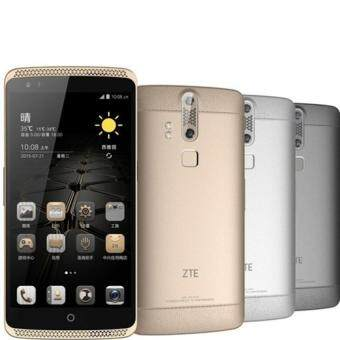 Harga ZTE Axon 7 4RAM 64MEMORY 100%ORIGINAL SET AXON WARRANTY 2 YEAR FREE flip cover original axon 7 (Gold)