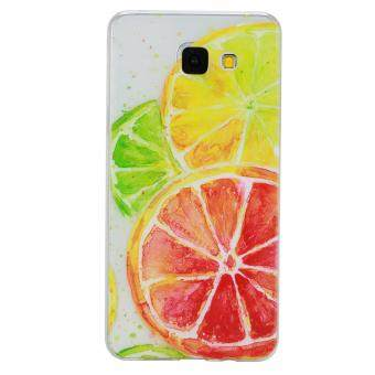 Harga Fashion Style Colorful Painted Colorful TPU Case Back Cover Protector Skin for Samsung Galaxy A5 2016 / A510