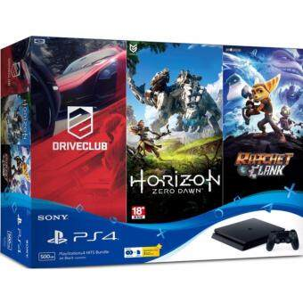 Harga Sony Playstation 4 Slim Hits Bundle (Sony Malaysia Official Product)