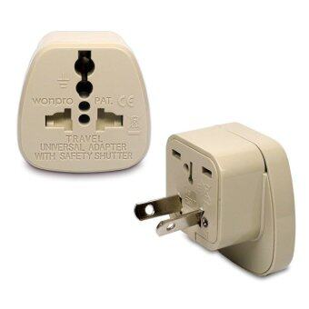 Harga Wonpro Travel Adapter WAS-17 for China, Australia, New Zealand