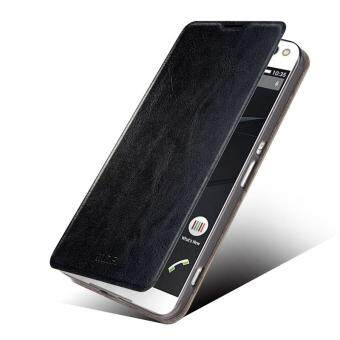 Harga Black MOFI Rui Series Leather Stand Case for Sony Xperia C5 Ultra E5553/ Ultra Dual E5533