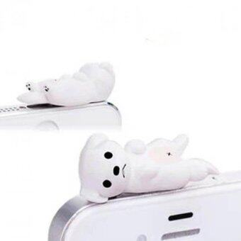 Harga Phone Charms 3.5 mm Dust Plug For iPhone 4 4S 5 5S 6 6s White
