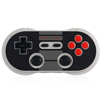 Harga 8Bitdo NES30 Pro Wireless Bluetooth Controller Dual Classic Joystick for iOS Android Gamepad Game Controller PC Mac Linux