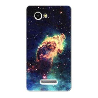 Harga PC Plastic nebula cosmic blast Case for Lenovo A880 A889 (Black)